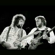 Randall Hall & Ed King of #LynyrdSkynyrd from the '87 Reunion Tour. #southernrock #classicrock #rockandroll #guitar | Skynyrd.com