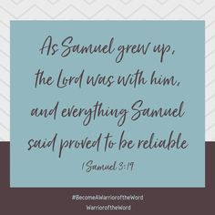 Let us to the Lord in prayer and from His Word . Let us be witnesses for Him . Daily Bible, Daily Devotional, 1 Samuel 3, Chronological Bible, Fight The Good Fight, Armor Of God, Verse Of The Day, Word Of God, Growing Up
