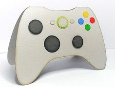 Freebie: Game Controller Card Digi and Cut Files · Stamping | CraftGossip.com