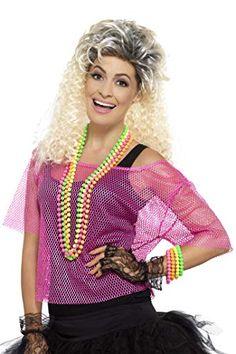 j/'aime les années 80 robe 1980 S poule Festival accessoires costume robe fantaisie Mesdames