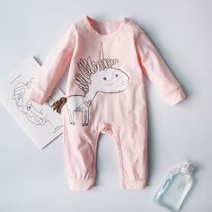 Victory! Check out my new Sweet Unicorn Graphic Jumpsuit in Pink for Baby, snagged at a crazy discounted price with the PatPat app.