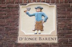 gevelsteen Dirk van Hasselsteeg 49, Amsterdam