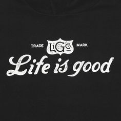 Men's Life is good Go-To Hoodie | Life is good