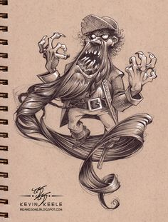Be Awesome: Sketchbook December '12
