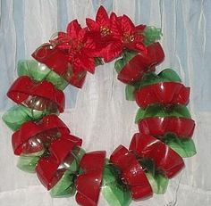 Christmas crafts from plastic bottle.