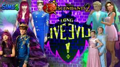 In present-day Auradon, Prince Ben, the teenage son of King Beast and Queen Belle,Mal, daughter of Maleficent,Chad Charming, son of Cinderella and Prince Cha...