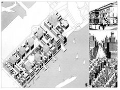 O.M. Ungers - Roosevelt Island Competition. (Unsubmitted entry)