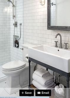 Awesome Farmhouse Bathroom Vanity Remodel Ideas – Best Home Decorating Ideas Industrial Bathroom Vanity, Farmhouse Bathroom Sink, Bathroom Taps, Master Bathroom, Mosaic Bathroom, Master Baths, Downstairs Bathroom, Small Basement Bathroom, Ikea Bathroom
