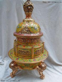 China Antique Bronze Handmade Fengshui Lucky Dragon Incense Burners Statue Nourishing Blood And Adjusting Spirit Metalware