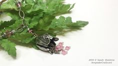 tulip blossom necklace