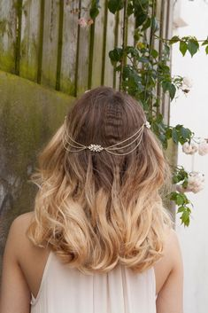 Diademi Tiara Capelli Pettine CROWN CORONA per Capelli Sposa Gioielli Argento haircomb BRIDAL Strasse
