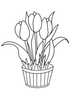25 Beautiful Flowers Coloring Pages Your Toddler Will Love To Color