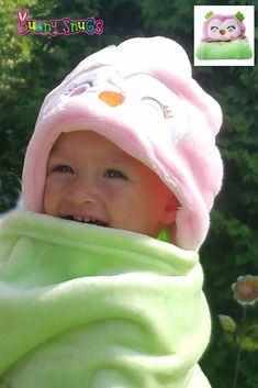Bon Bebe Unisex-Child Baby by Bon Bebe Hooded Bath Towel Layette Set