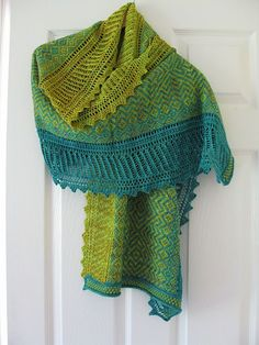 Ravelry: Oceania shawl pattern by Kieran Foley