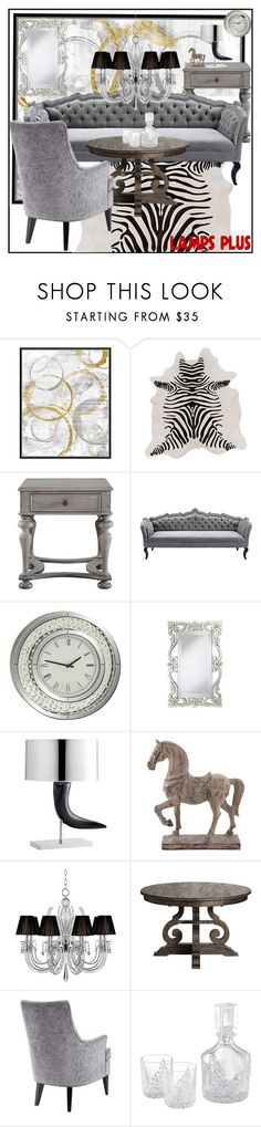 """""""Home dekor"""" by zehrica-kukic ❤ liked on Polyvore featuring interior, interiors, interior design, home, home decor, interior decorating, Surya, Universal Lighting and Decor, Cyan Design and Vienna Full Spectrum"""