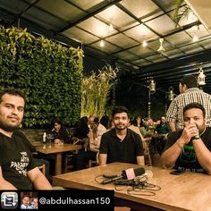 Repost from @abdulhassan150 denture Capitalists at the opening of #bartender  #funatwork