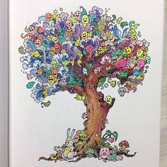 Doodle Invasion: The Highly Detailed Coloring Book That Adults Love - My Modern Met