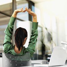 Tómate unos minutos para moverte en tu oficina: alza los brazos, camina o deja que tu cuerpo se estire. ¡Actívate por tu salud!  #Health #Work #Office #BeWell