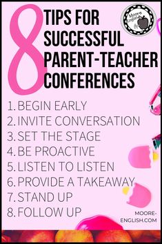 Last week, my school hosted parent-teacher conferences. As we were preparing to welcome parents and guardians, one of our new teachers asked me what to expect. How many parents would attend? How should teachers dress? Would dinner be provided? During this conversations, I realized there are several little tips and tricks teachers pick up over the years that make for a smoother conference experience. Perfect for parent-teacher conferences at the elementary school level, in middle school, and in h Classroom Discipline, Classroom Behavior, Classroom Management, Teacher Organization, Teacher Hacks, Parents As Teachers, New Teachers, Writing Resources, Teacher Resources