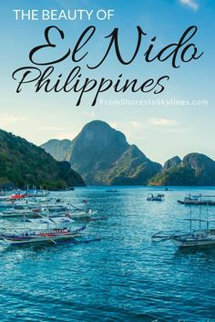 The Philippines is a gorgeous country, with over 7000 islands (!) it was hard to narrow it down. But everyone seems to agree on this: don't miss El Nido.