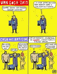 As aventuras de Vincente ... www.loroverz.com #loroverz #tirinhas