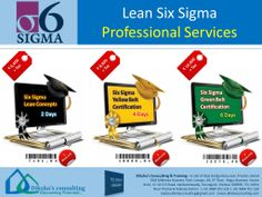 Six Sigma & Lean Training (Week end Courses) now @ Diksha's Consulting !!!