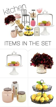 """""""kitchen"""" by kylieriot ❤ liked on Polyvore featuring art and kitchen"""
