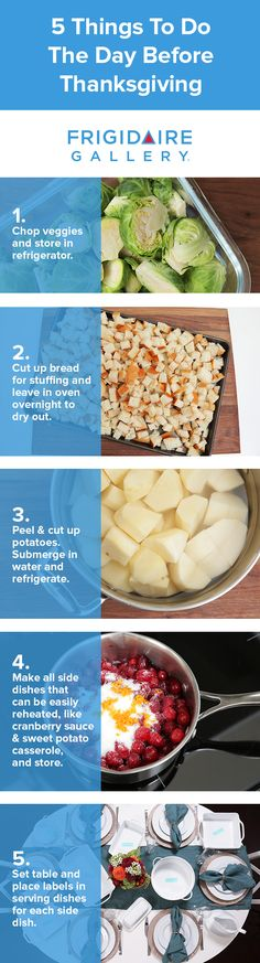 What to do the day before Thanksgiving? Prep! Learn more with these great tips from @TheDomesticGeek on how to save time this holiday season. Click for more tips.