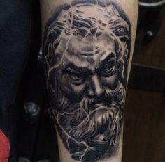 Greek Mythology God Tattoo