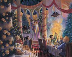 <b>La ilustradora de las ediciones estadounidenses de Harry Potter, Mary GrandPré, retrata momentos icónicos de los libros en una serie de hermosas ilustraciones muy pocas conocidas.</b>