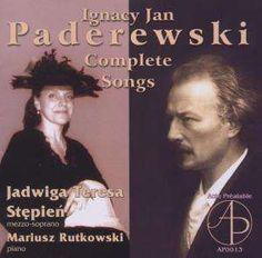 Die CD Ignaz Paderewski: Sämtliche Lieder jetzt probehören und portofrei kaufen. Mehr von Ignaz Paderewski (1860-1941) gibt es im Shop.