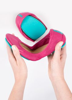 Travel in Tieks - the most versatile, durable, and comfortable ballet flats in the world!