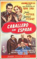 Mr Smith Goes To Washington James Stewart Jean Arthur Claude rains Edward Arnold