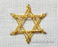 Stitch Fun: Star Stitch – for Stars and Snowflakes – Needle'nThread.com