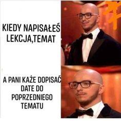 Wtf Funny, Funny Memes, Jokes, Funny Lyrics, Polish Memes, Quality Memes, History Memes, School Memes, Best Memes