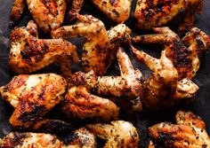 Grilled Chicken Wings Recipe Out Of This World Grilled Chicken Wings Recipes That You Should Try Now Grilled Chicken Wings Recipe. Grilled chicken wings are the ultimate comfort food – snack … Chicken Wing Marinade, Marinated Chicken Wings, Chicken Wing Recipes, Grilled Wings, Barbecue Chicken, Grill Barbecue, Sambal Chicken, Jerk Chicken, Chicken Skewers