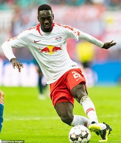 The Toffees are stepping up their interest in RB Leipzig forward Jean-Kevin Augustin Everton, Trainer, Sport, Captain America, Superhero, Summer, Fictional Characters, Rb Leipzig, Football Soccer