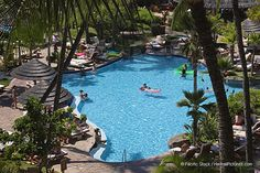 Kaanapali Beach, one of the pools at the Westin, Maui.  Ahhh, I remember it well!