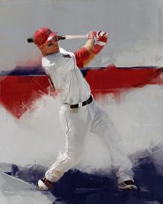 MLB Art by Denis Gonchar, via Behance