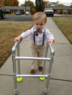 Old Man halloween costume  sc 1 st  Pinterest & Chucky Toddler Costume - the Beginning When He Was Two Years Old ...
