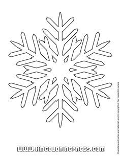 snowflake coloring page google search