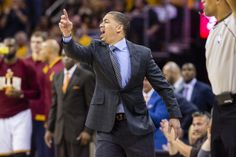 Tyron Lue, Coach of the Cleveland Cavaliers
