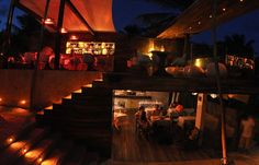 BeTulum at night - eating and drinking
