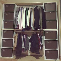 Mai21さんの、壁/天井,カラーボックス,DIY,ニトリ,洋服収納,RC兵庫支部,katasu,squ+,カラーボックス DIY,壁面クローゼット,のお部屋写真