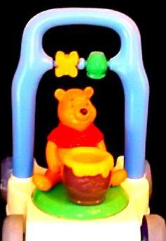 Hungry Winnie the Pooh Push Cart