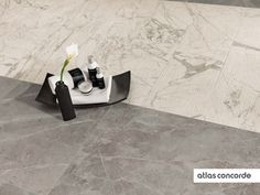#MARVELPRO grey fleury & statuario select textured | #AtlasConcorde | #Tiles | #Ceramic | #PorcelainTiles