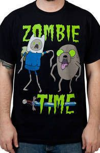 Zombie Adventure Time Shirt