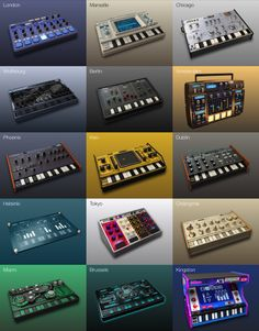 KORG Gadget 2 - Evolving to the next generation. Quickly and intuitively turn your ideas into music. The best music production software & plugins. Best Music Production Software, Dj Dj Dj, Piano, Music Mixer, Computer Music, Drum Machine, Dj Equipment, Electronic Music, Good Music