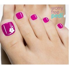 Just drop one #WorryFreePedi tablet into the foot bath water at the salon or spa. Within 1 minute, the water you'll soak your feet in will be treated, protecting you from bacteria & fungus, and leaving you Worry Free! #nail #art