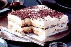 Bill Granger's Tiramisu Ice Cream Cake | Dessert Recipes | GoodtoKnow